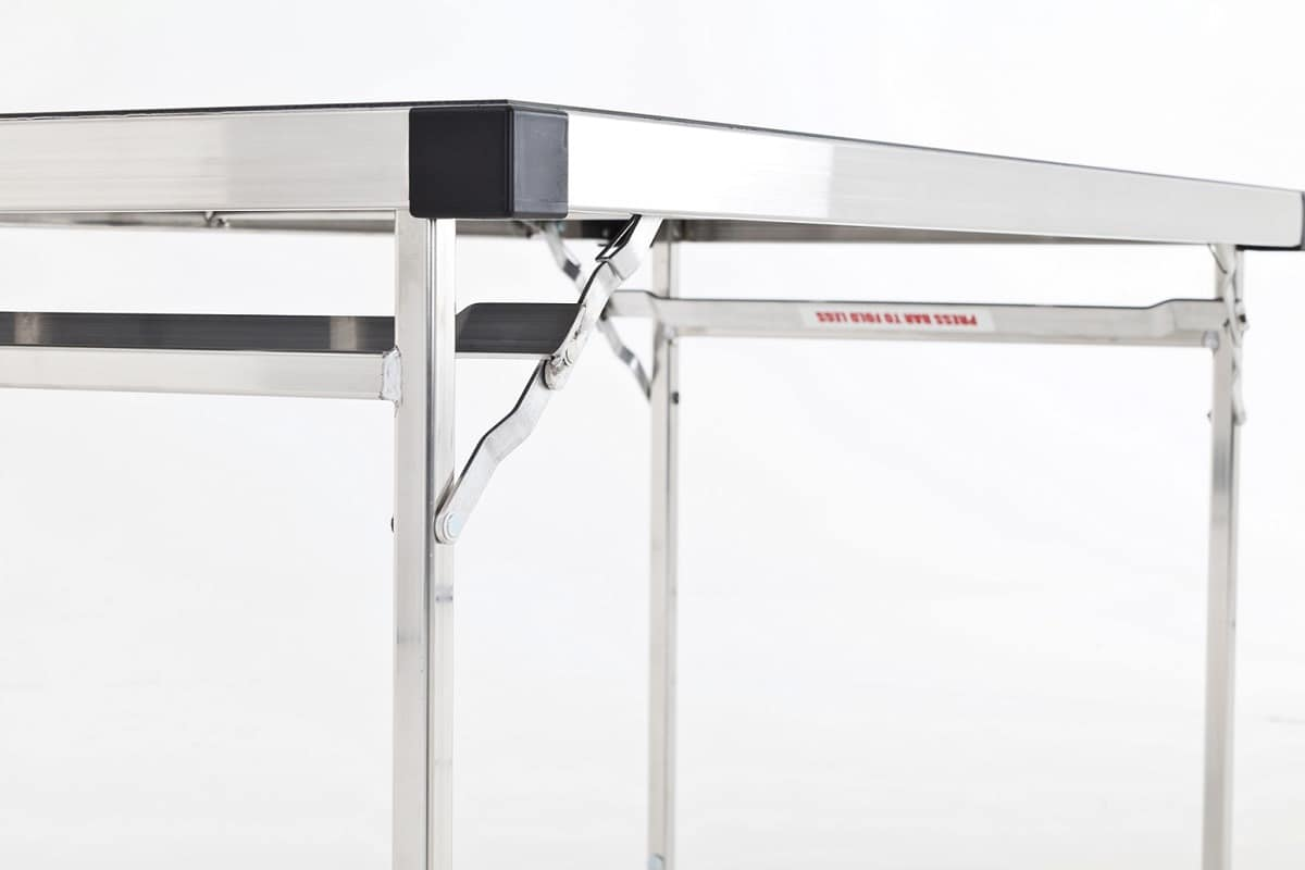 Slimlite BSL1875, Folding table, in aluminum, modular, for external