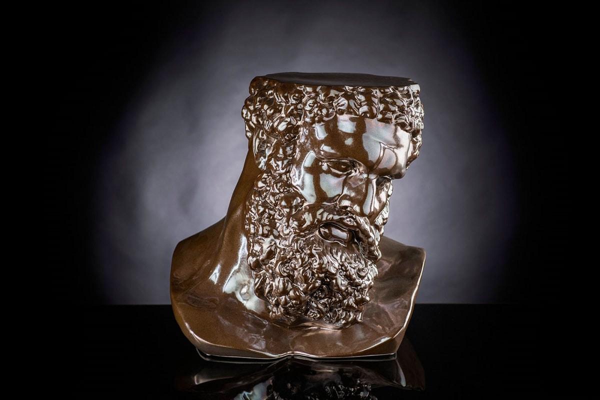 Busto Ercole, Decorative ceramic bust