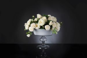 Camilla Roses, Composition of white roses