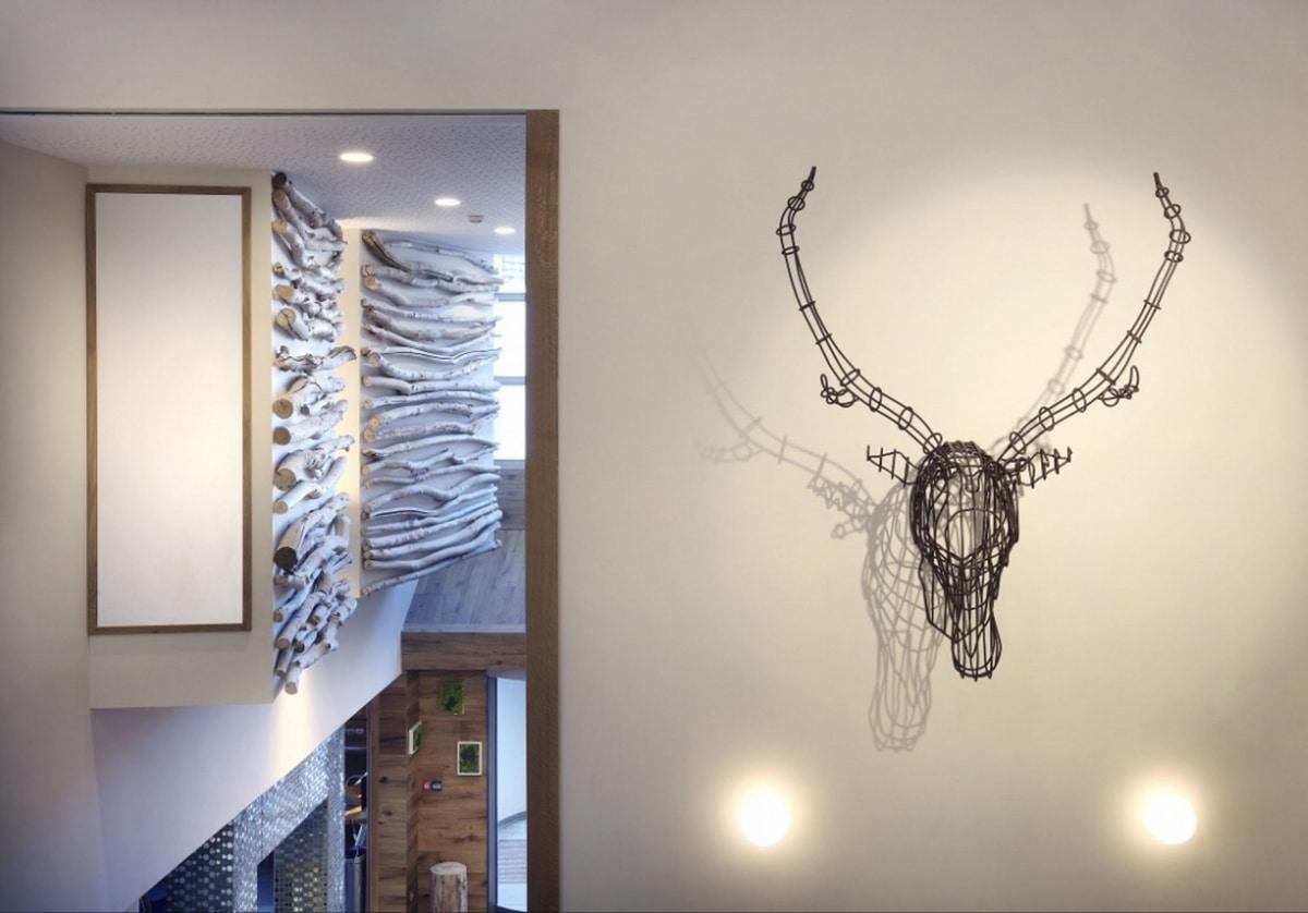 Cervo, Modern furnishing accessories, head in deer shape