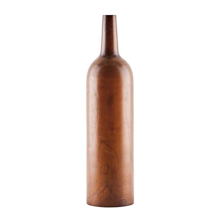 Decor 00270, Decorative bottle in wood