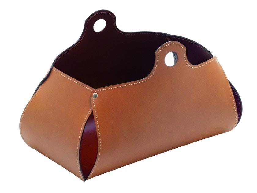 Penelope, Magazine rack in regenerated leather