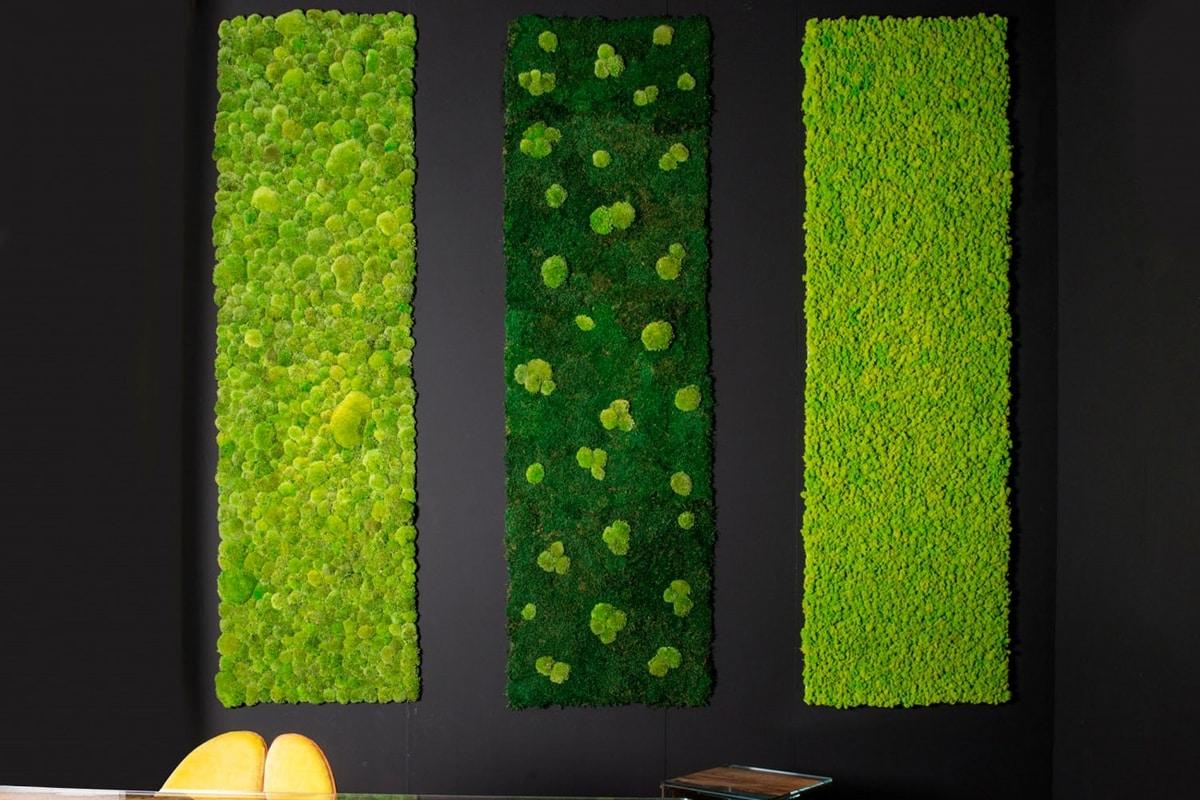 Polemoss, Decorative green wall
