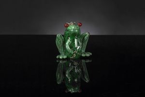 Prince Frog, Decorative glass frog