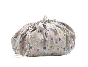 Sacco portagiochi, Toy bag that turns into play carpet