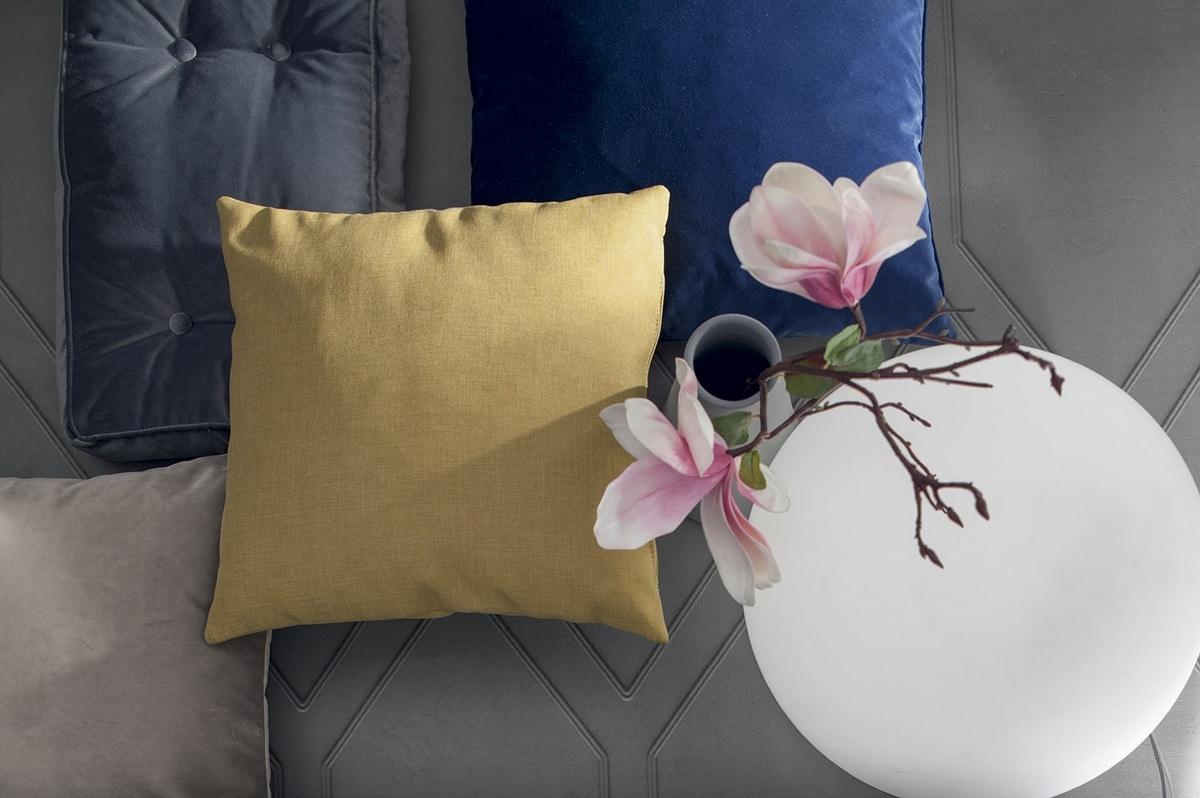 SAILON, Cushions: round, squared and rectangular