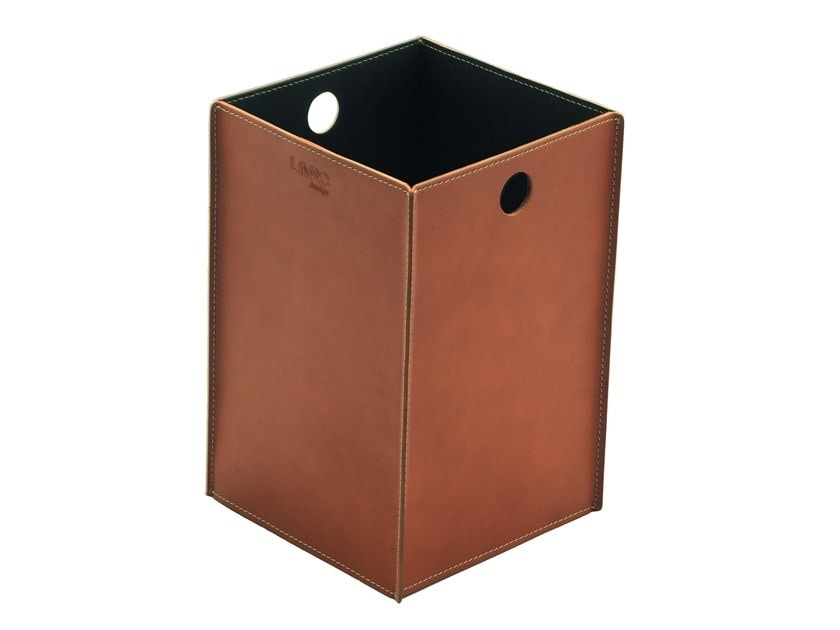 Teodoro, Waste paper basket in regenerated leather