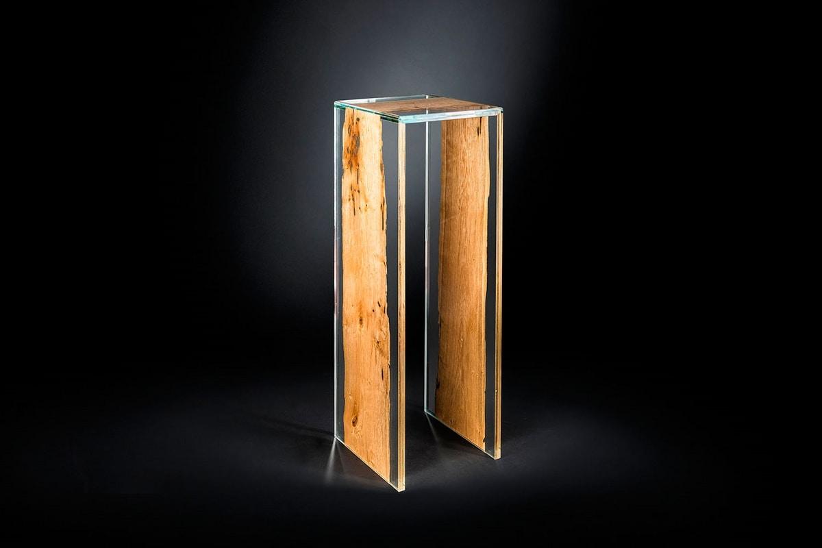 Venezia column, Glass and briccola column