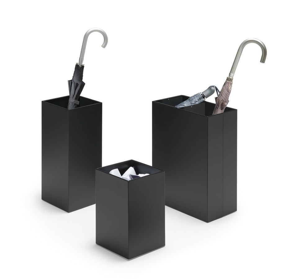 Design Collection umbrella stand, Umbrella stand in painted steel, for office
