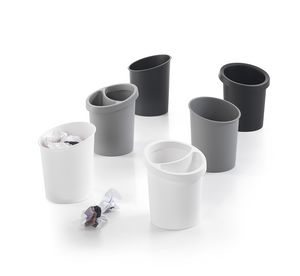 Hi-Tech 2, Stackable wastepaper basket in polypropylene