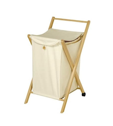 Laundry, Bag container with structure in beech