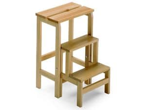 Scala 3, Step ladder made of beechwood