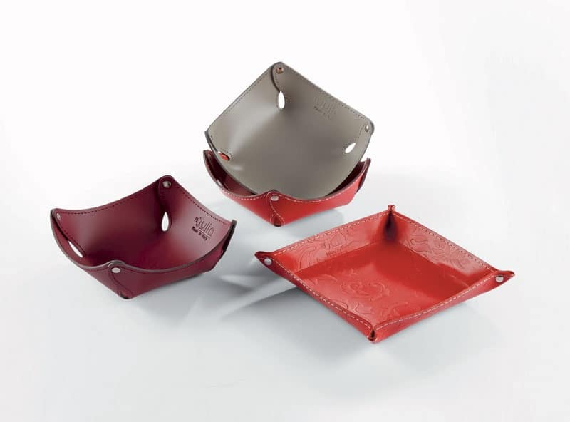 Swing, Leather tidy tray, for entrance