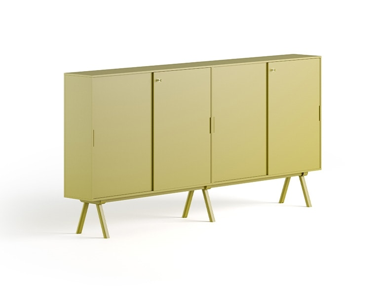 Cabinet 2027, Office cabinet with sliding doors