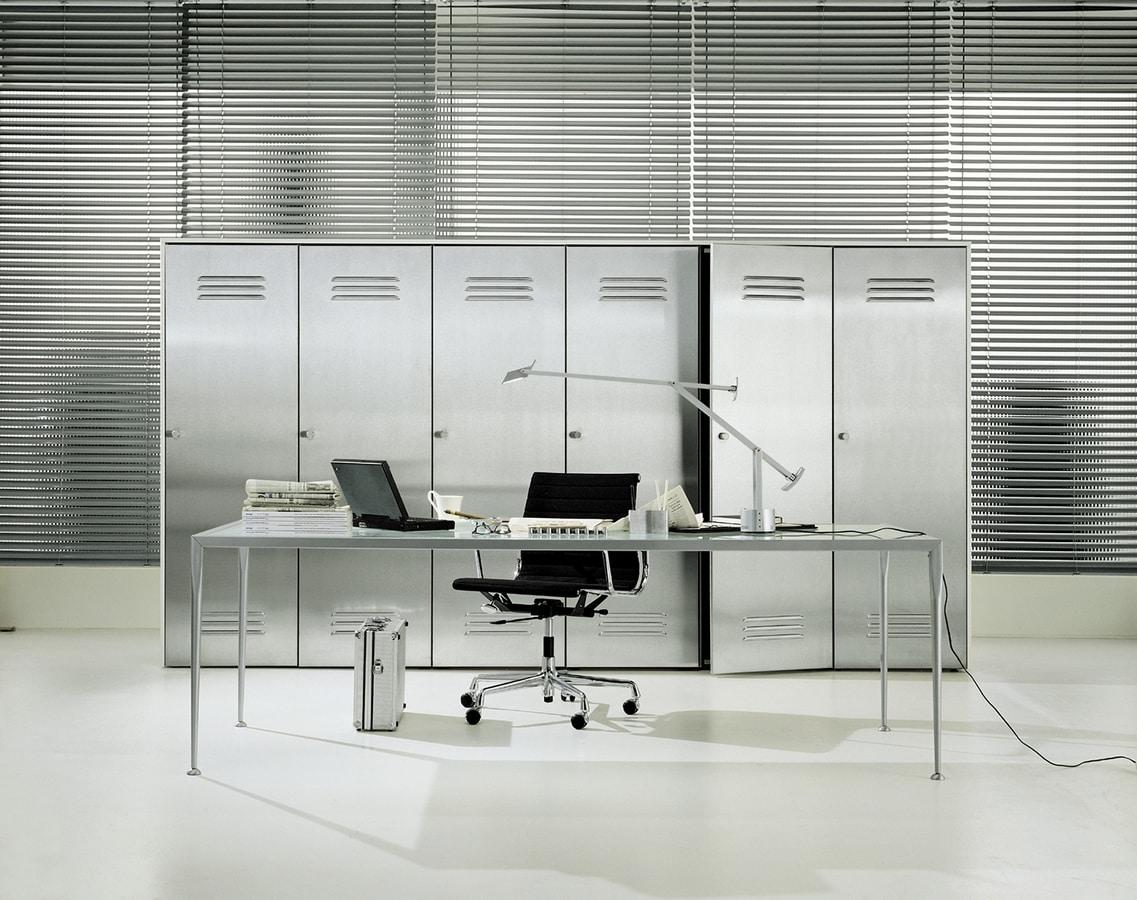 CITYBOX comp.02, Cabinet for office, with steel door