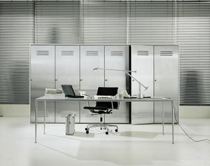 CITYBOX comp.02, Cabinet for office, with steel door
