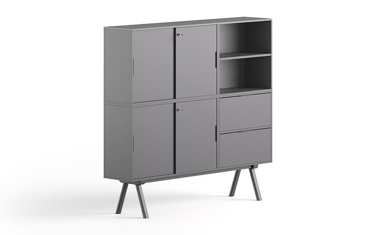 High cabinet 2027, Tall office cabinet