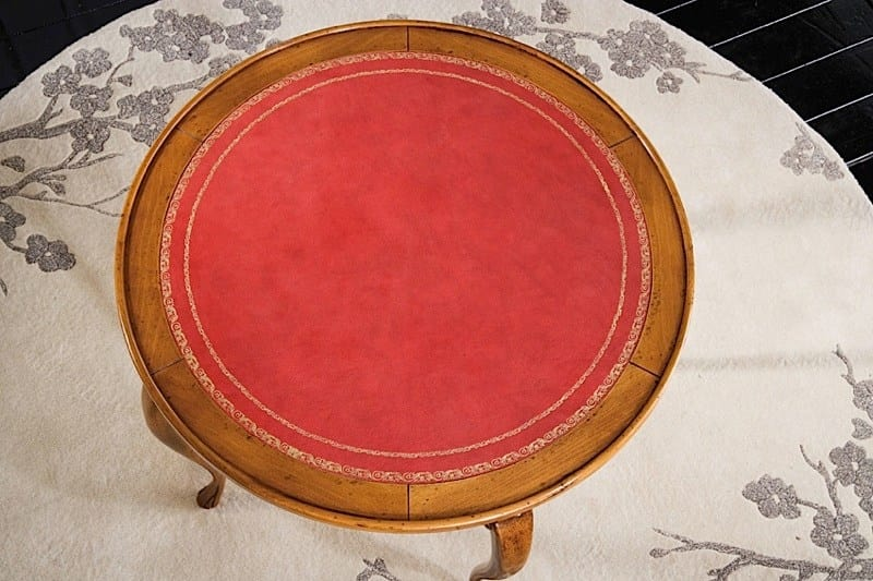 Henry poker table, Poker table with round top
