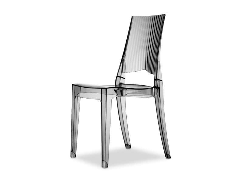Glenda, Design Chair In Polycarbonate, Also For Garden