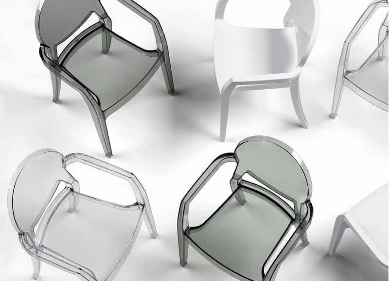 Igloo, Lightweight chairs in plastic