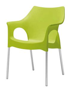 Olga, Chair for gardens and outdoor bars