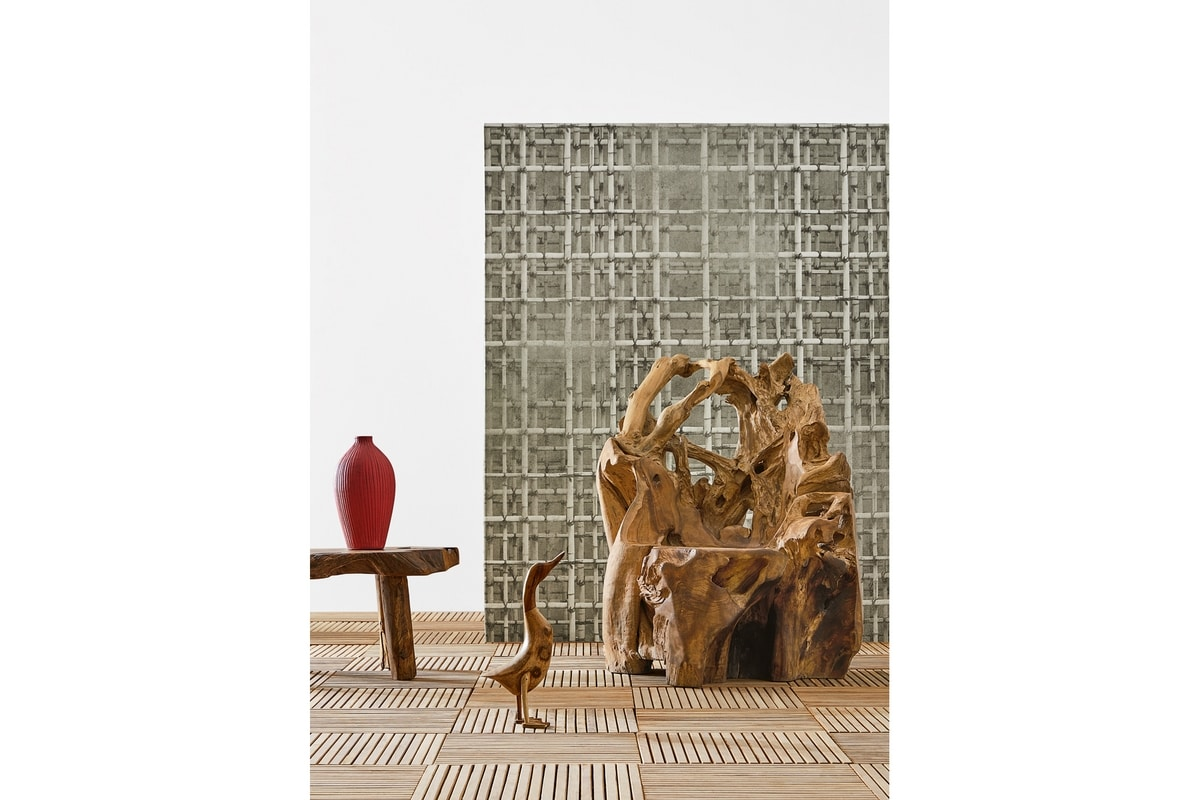 Radice 0366, Chair in natural root