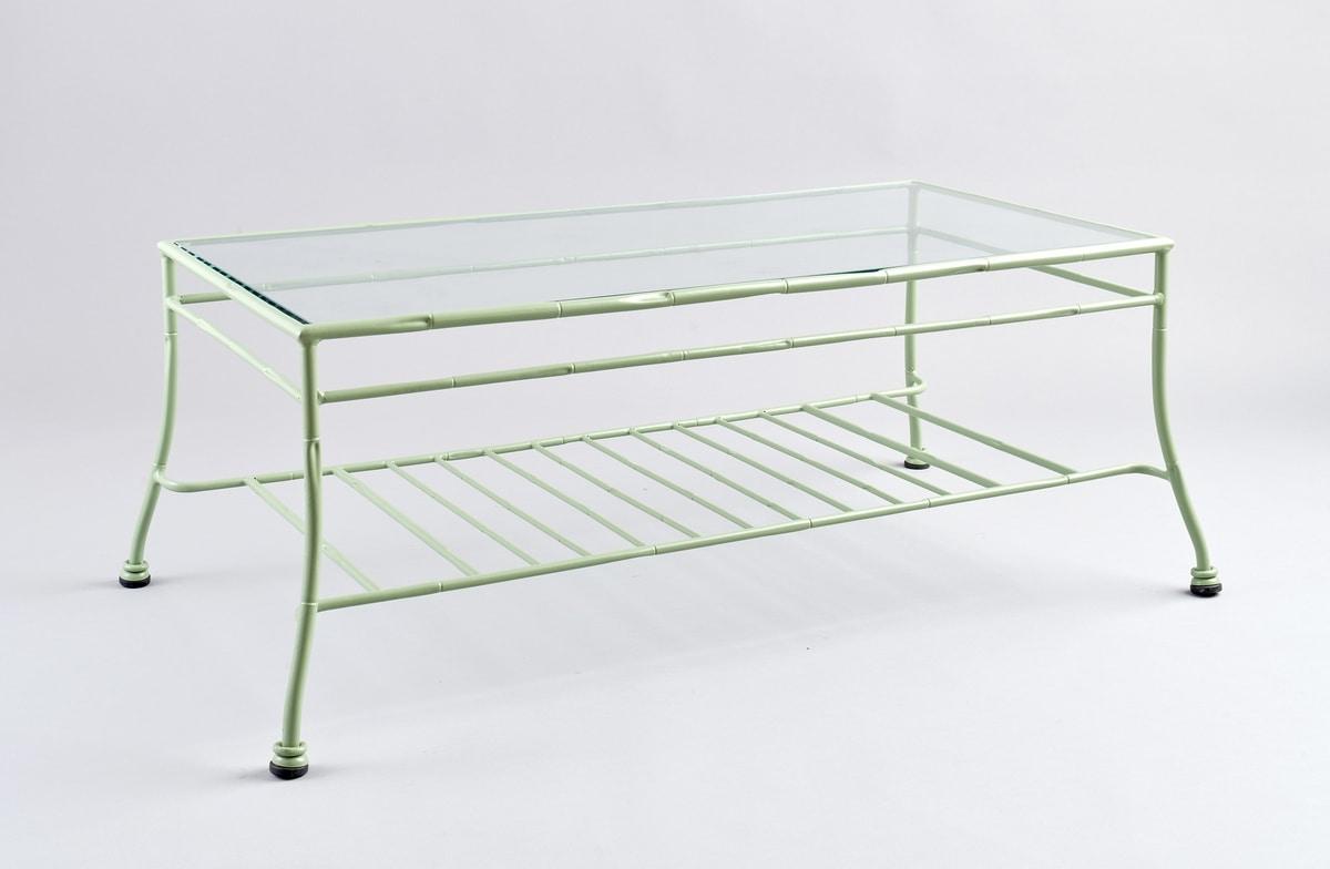 BAMBOO GF4012TA-B, Outdoor table in green iron