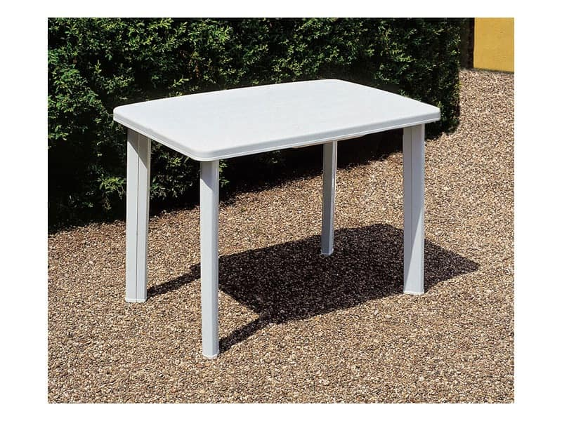 Faretto, Table for gardens, made of durable plastic