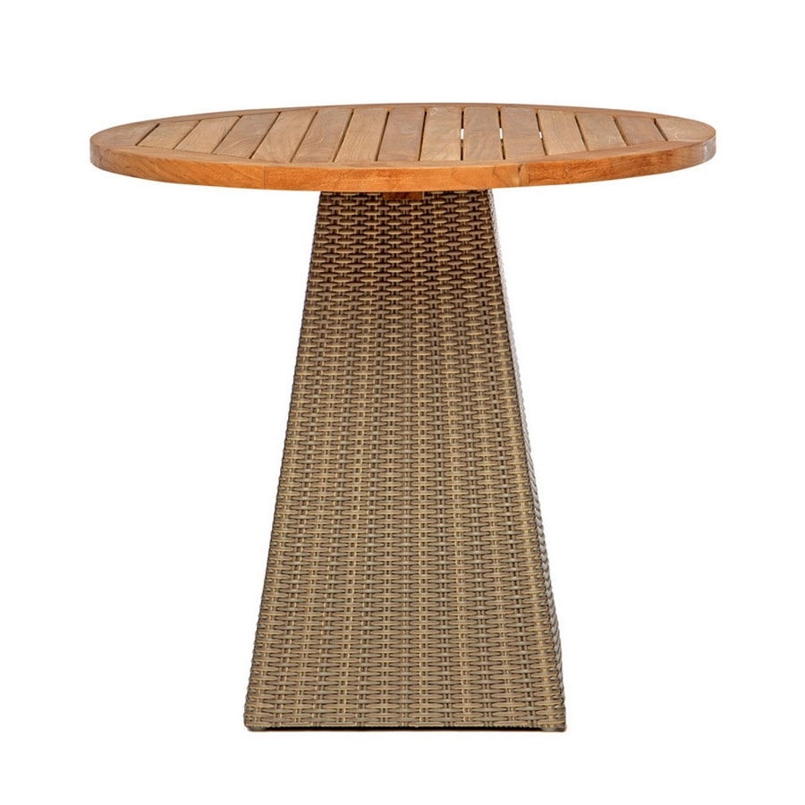 Gipsy 4704, Round table, with woven base