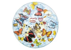 Natura Butterfly, Table for indoors and outdoors, with decorative butterflies