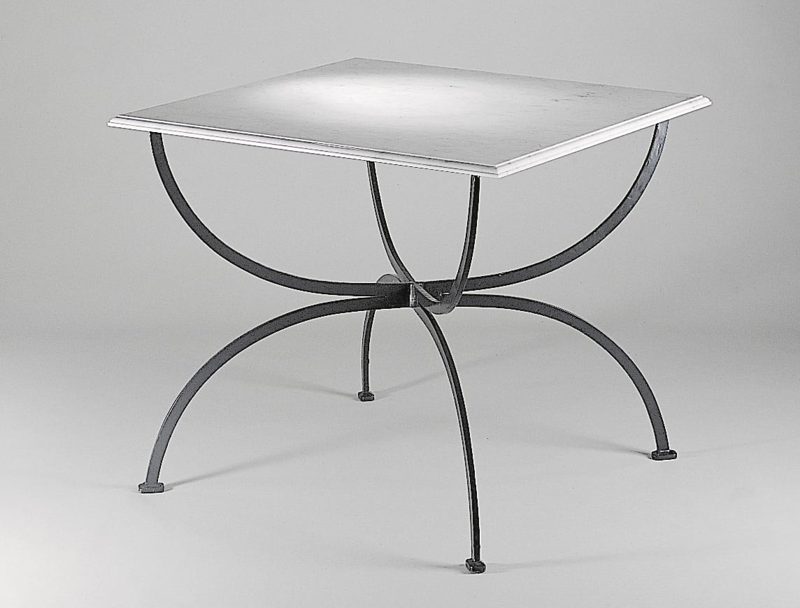 PIAZZA GF4009TA, Square table for outdoor with marble top