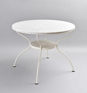 ROMBI GF4002TA-RO, Outdoor table with marble top