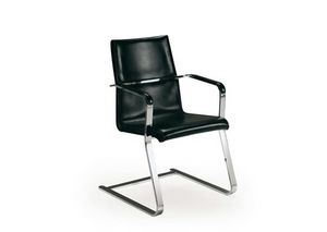 250, Office visitor chair, in leather
