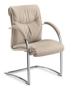 Angel visitor, Office chair with cantilever base