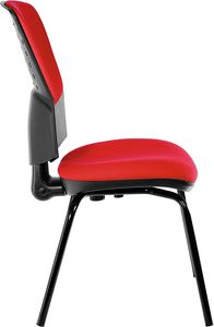 Fantail 4 legs, Comfortable chair for office guests
