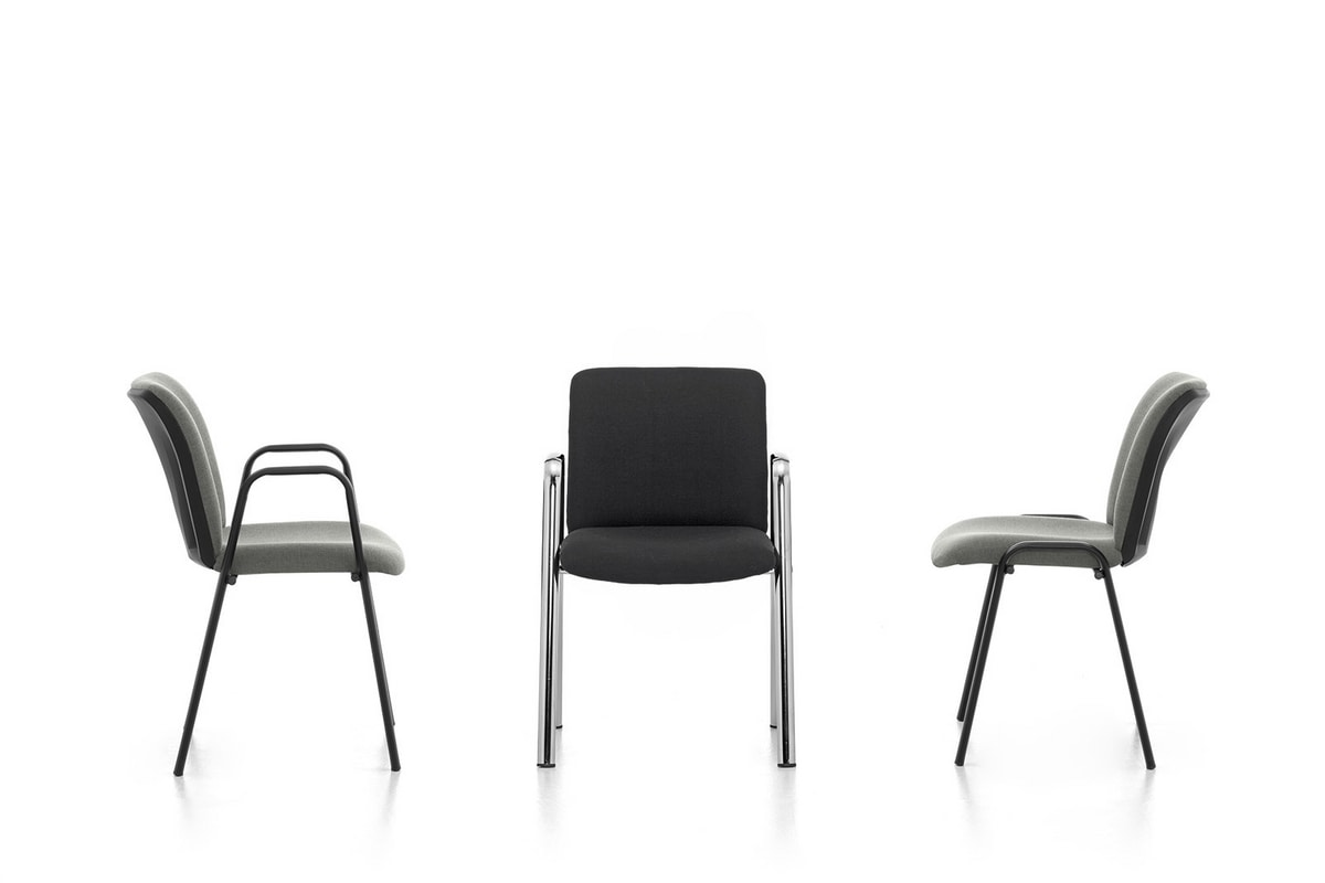 Isotta 02, Office chair with armrests