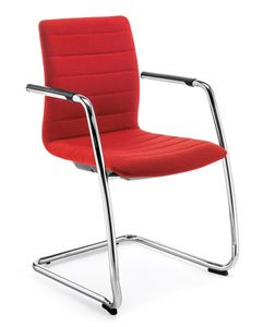 Q2 IM, Padded chair with cantilever base