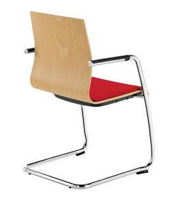 Q2 WIM, Chair with cantilever base, for office visitors