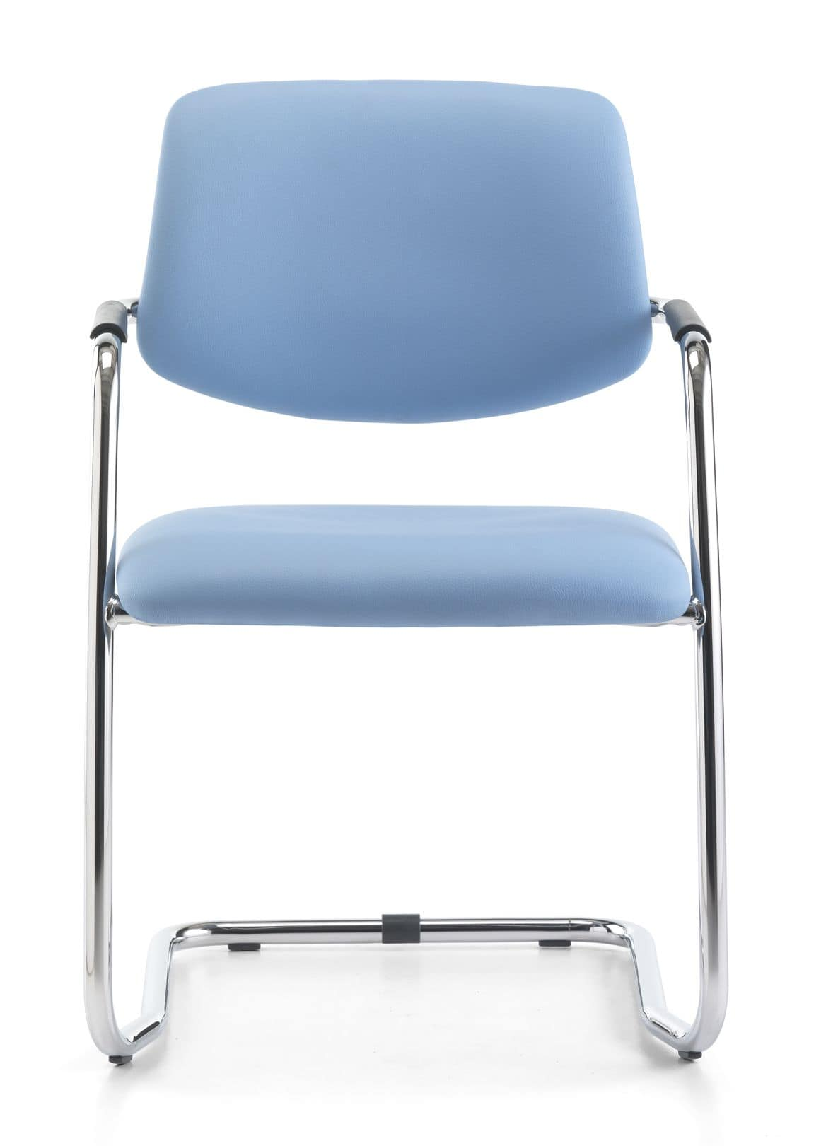 Samba 01, Visitor chair with tubular steel, for office