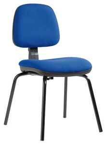 Sofia 4 legs, Office chair with adjustable backrest height