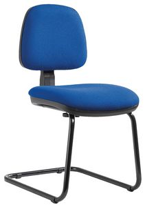 Sofia cantilever, Chair for office guest, with adjustable backrest