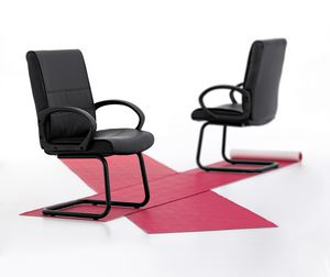 Texas 03, Sled chair for office, plywood structure