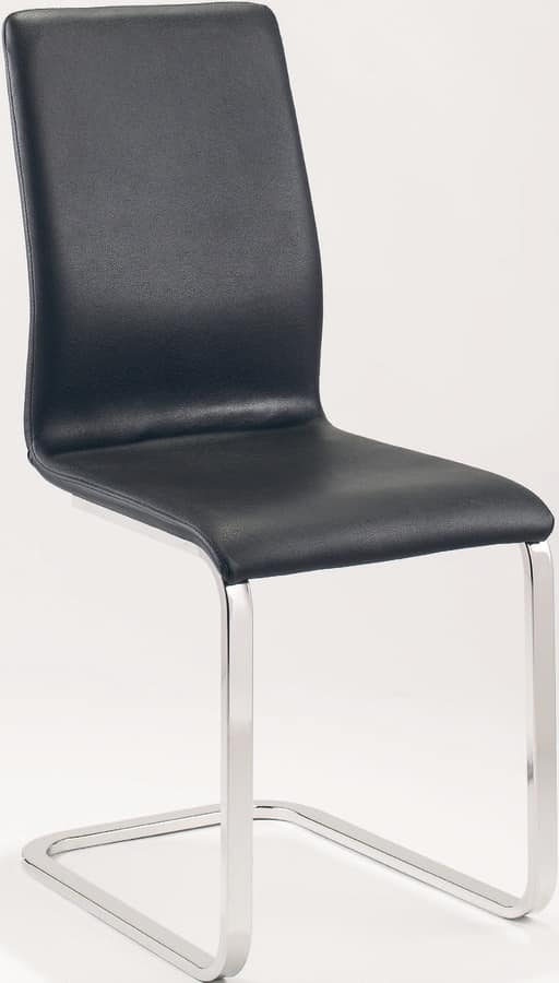 UF 169 S, Visitor chair in various colors, frame in square tube