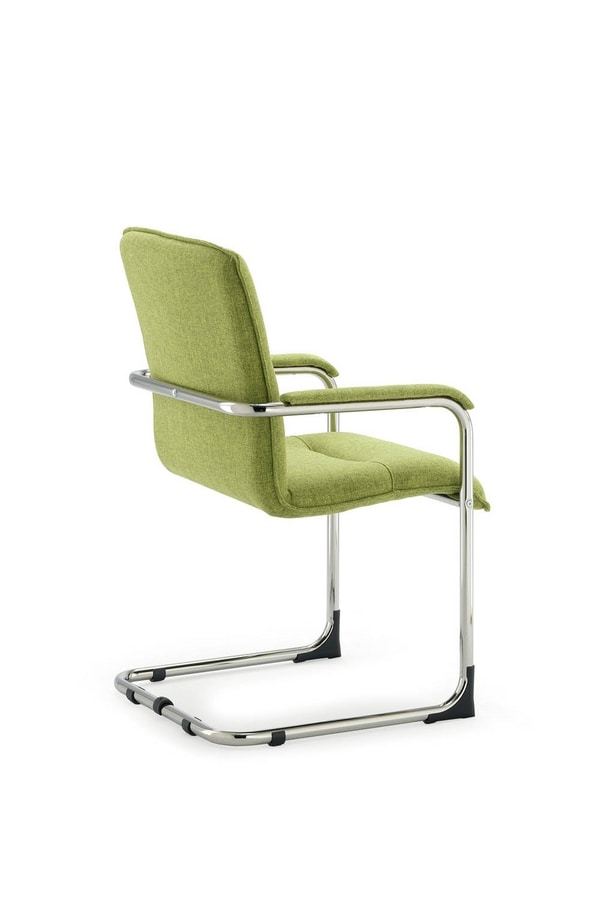 UF 445 / S, Padded visitor chair, with scratch feet