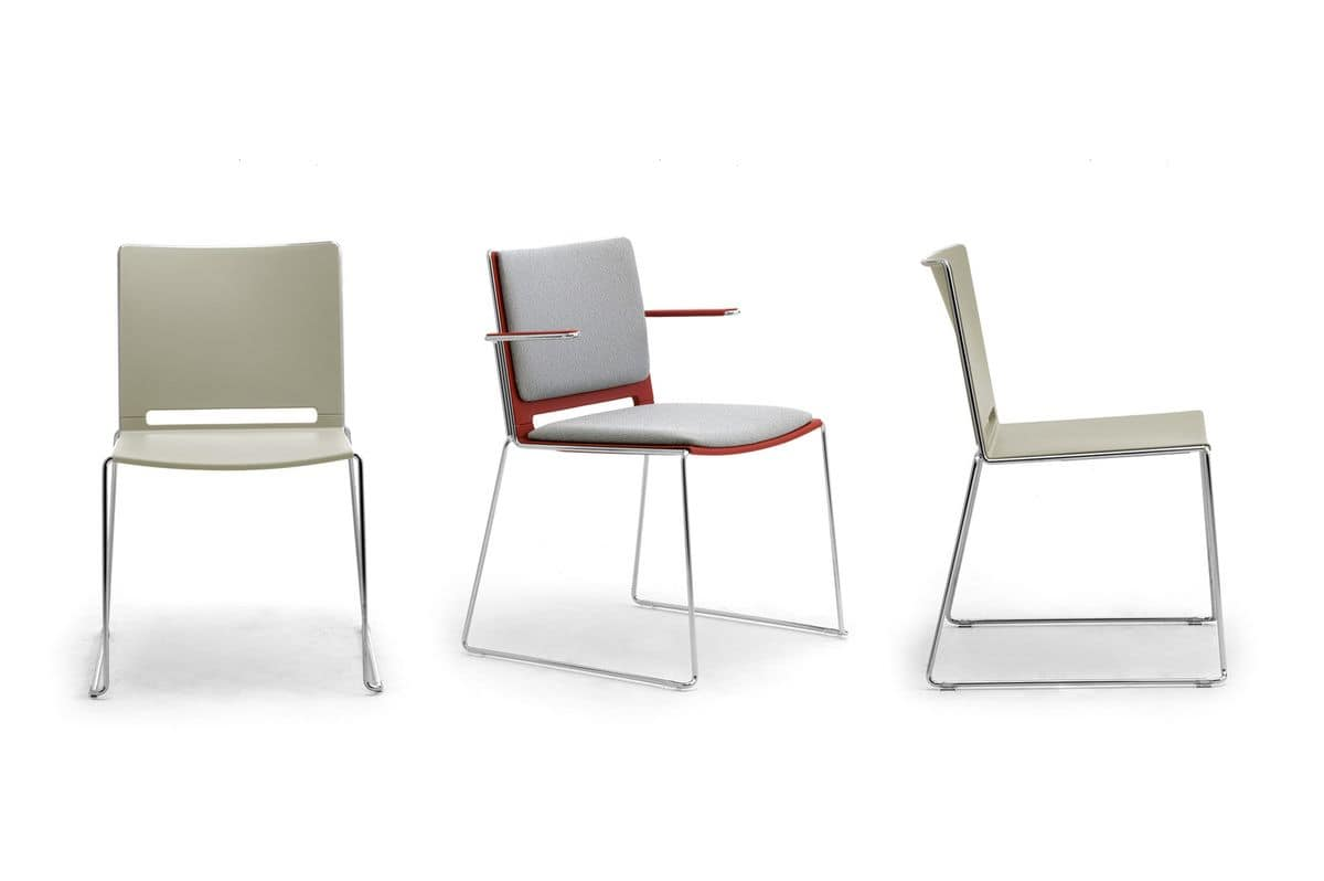 iLike, Stackable chair, modern style
