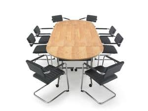 Tiani 02/2, Padded armchair for meeting rooms and offices