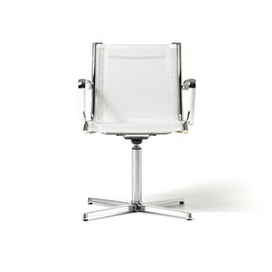 Auckland chair 2, Visitor chair for office and waiting room, 4-star base