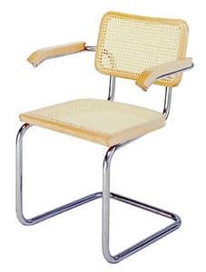 Vienna A, Office chair with seat and backrest made of mesh