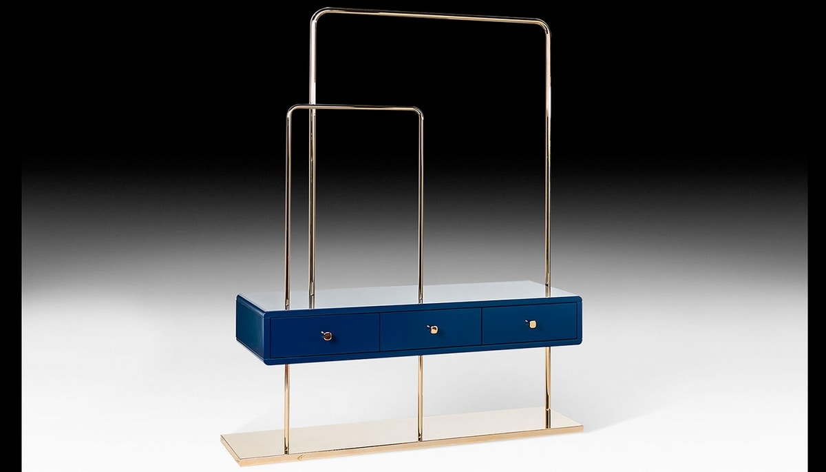 Emperor's Clothes Rack, Entrance furniture with hangers