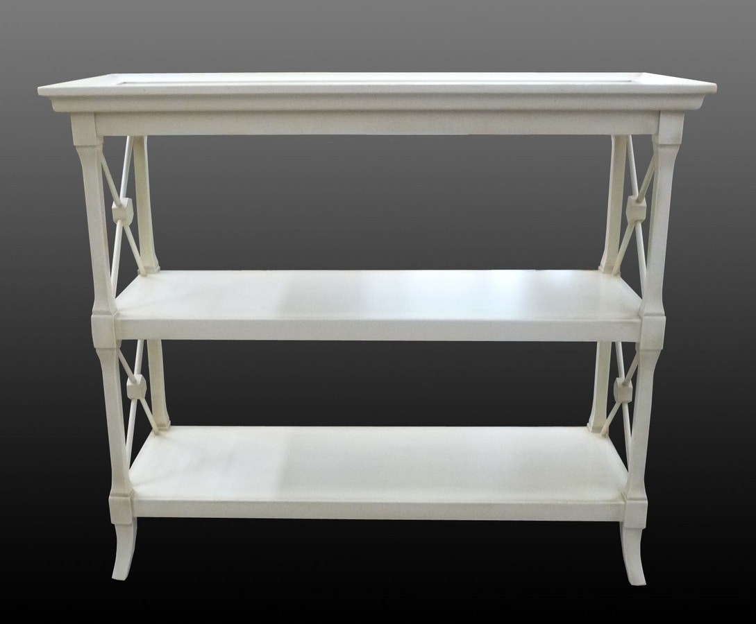 Veronica FA.0091, Little furniture with three shelves, in luxurious classical style
